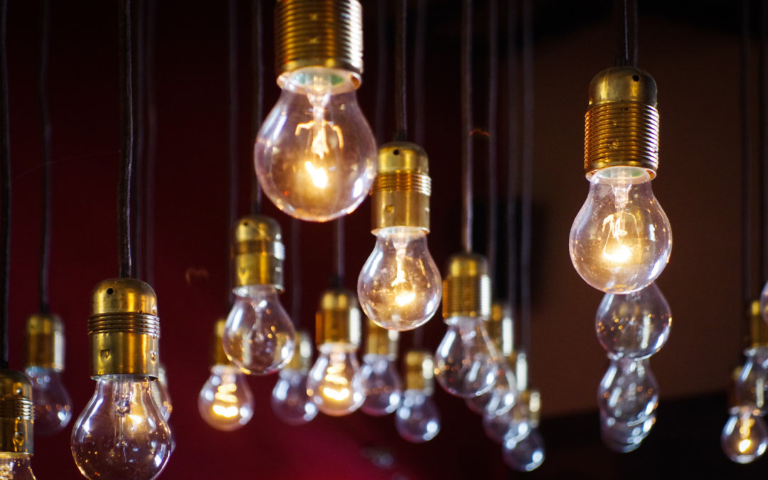 "How to benefit from your own ""Light Bulb"" moment"
