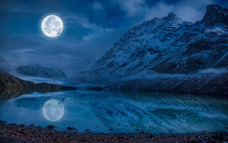 Stay calm, it's just a full moon