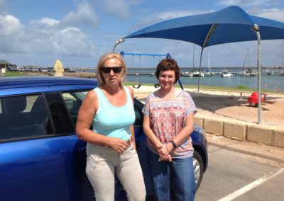 6. Jen and I drive to Geraldton Feb 2016